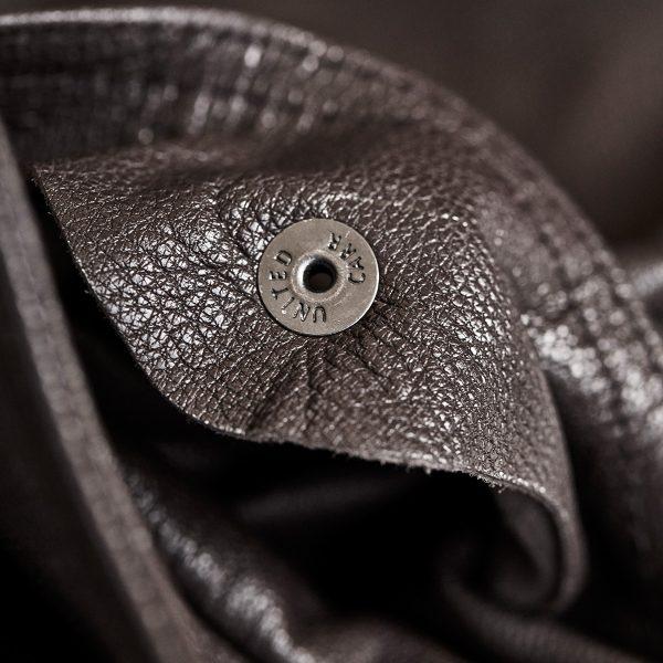 A2 bronco flight jacket united carr button