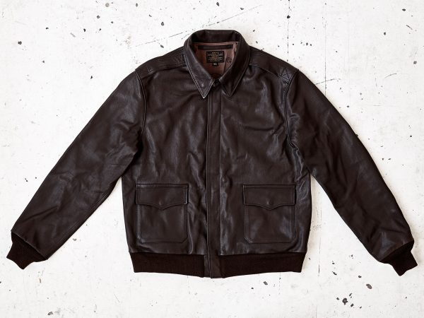 A2 flight jacket in leather