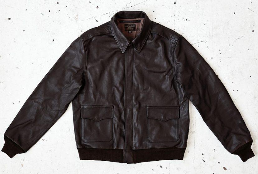 WW2 A2 flight jacket in goatskin
