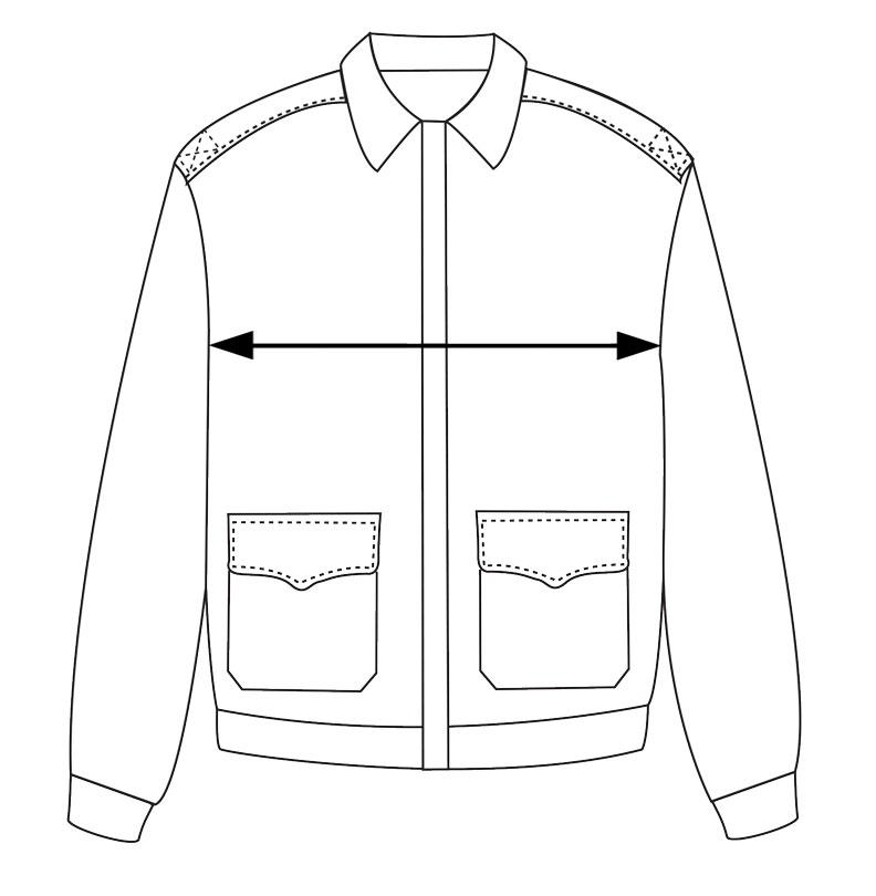 a2 flight jacket measurements chest