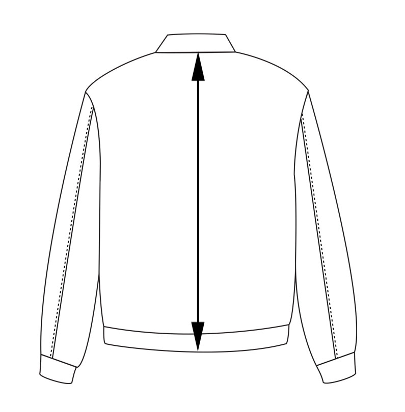 flight jacket back