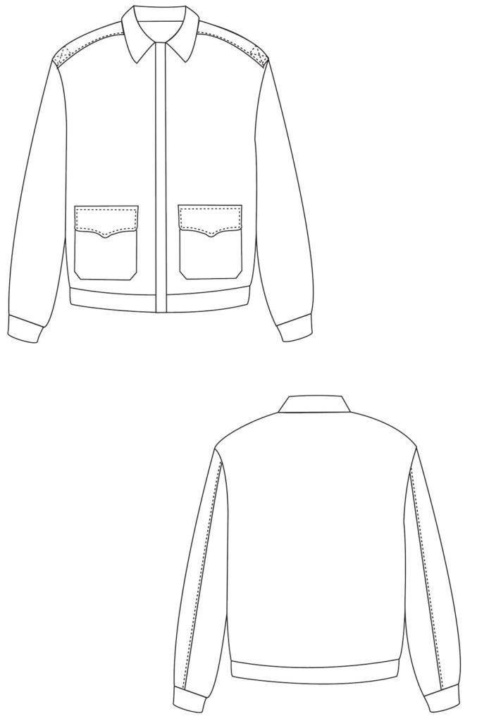 flight jacket measurements