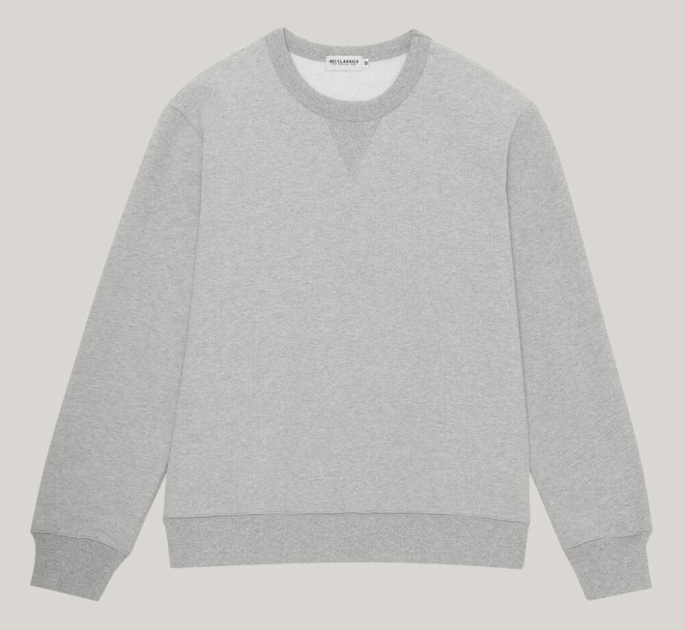 Sweatshirt in thick cotton