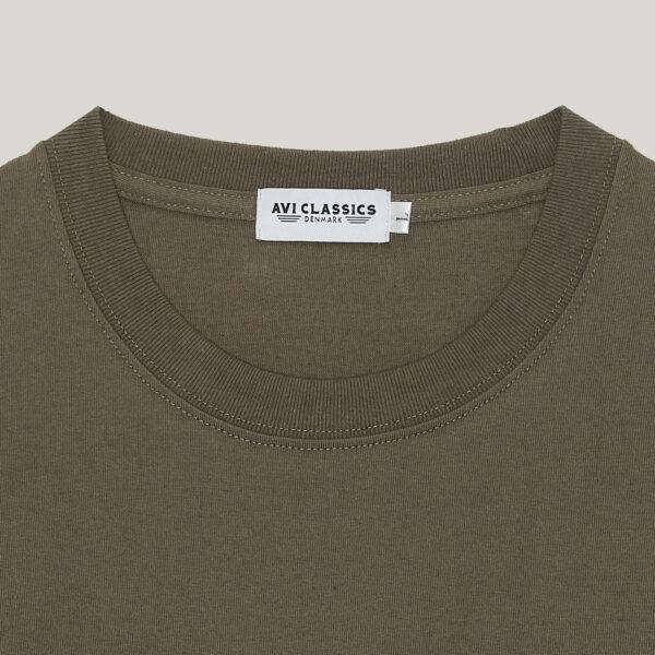 tubular tshirt in army green