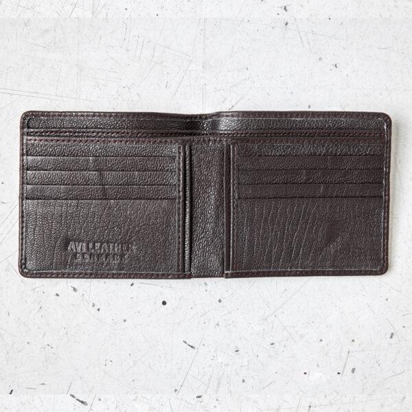 Bifold wallet in goatskin