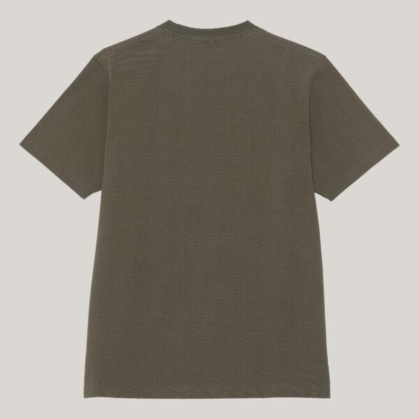 Loopwheel tshirt in Tubular knit