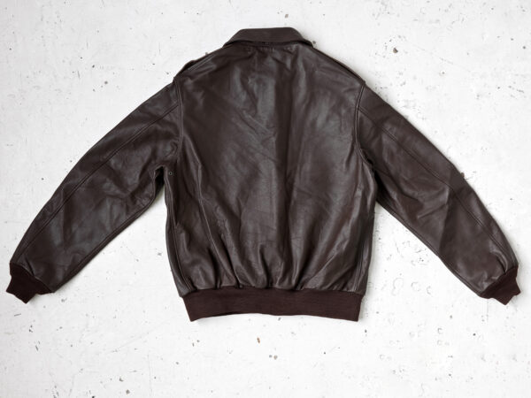 A2 flight jacket in horsehide leather