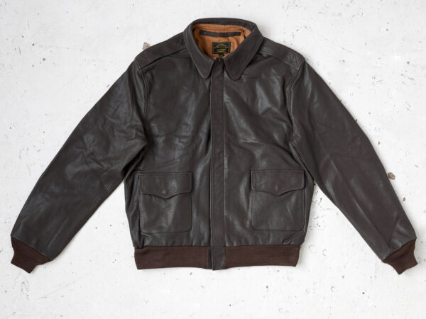 Perry A2 flight jacket in horsehide