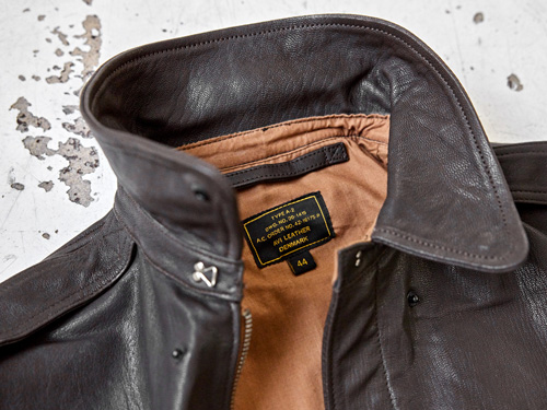 a2 jacket in horsehide