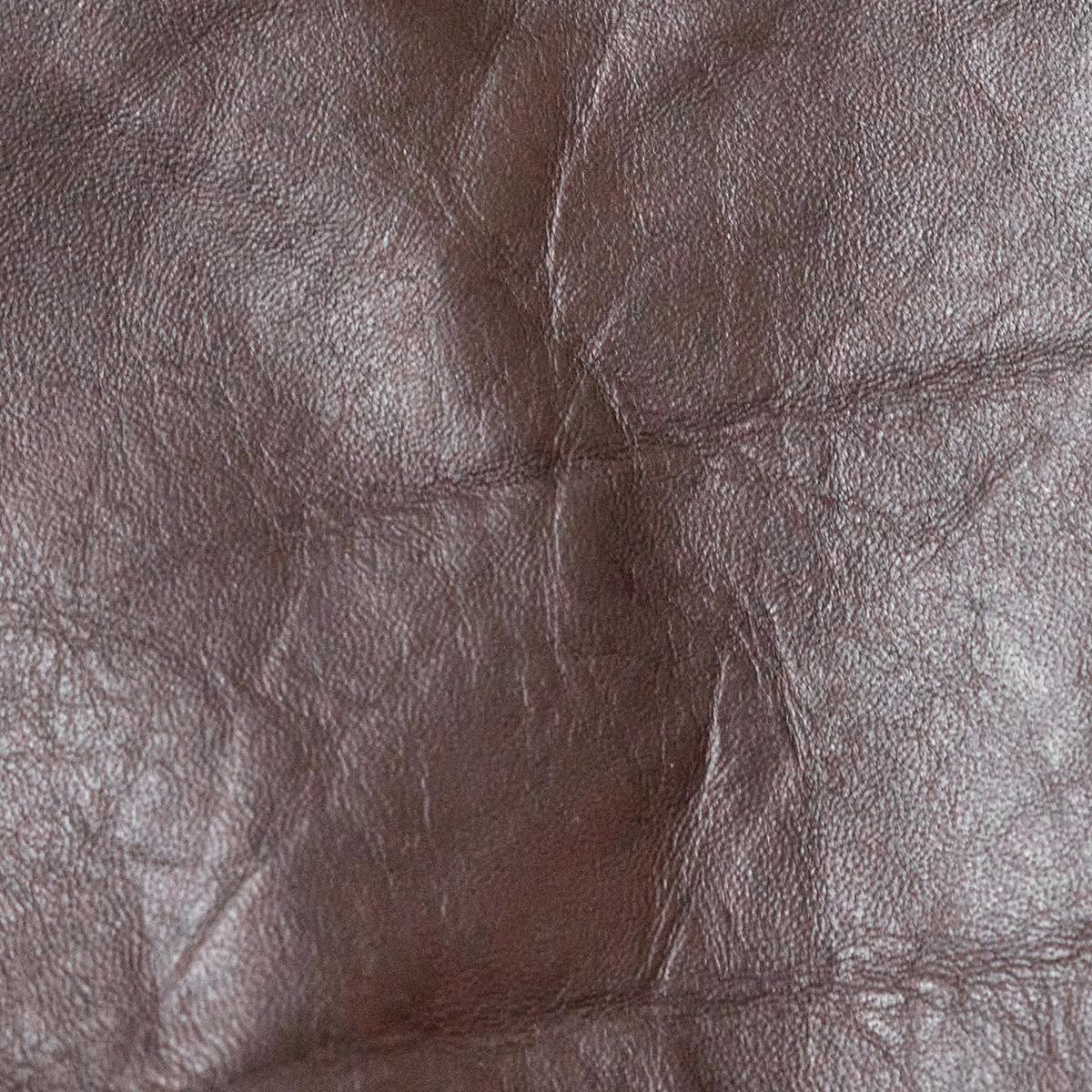 Seal brown horsehide