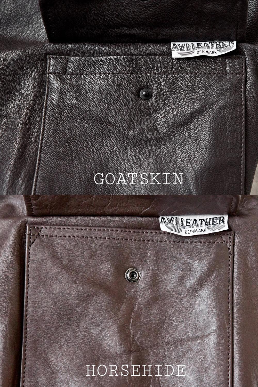 Horsehide vs. goatskin for a leather jacket